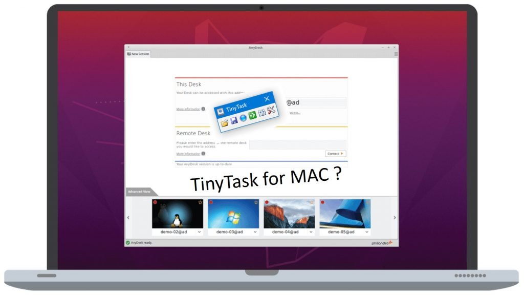 TinyTask for MAC OS